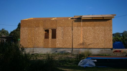 Wed 7th & Thu 8th August - More Roof Panels