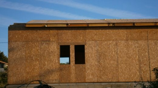 Mon 2nd to Wed 4th September - Final Roof Panels (Nearly)